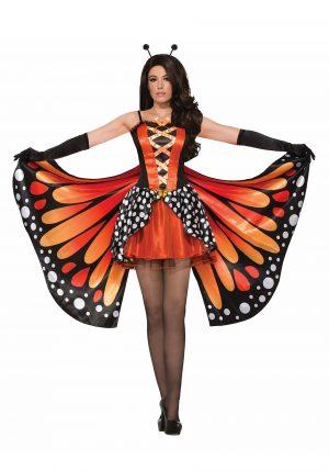Fantasia de Borboleta Adulta Feminina – Miss Monarch Costume for Women