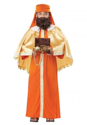 Fantasia de Gaspar Wise  para meninos – Gaspar Wise Man Costume for Boys