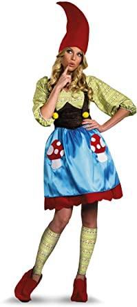Fantasia de Gnomo para Mulheres – Disguise womens Ms. Gnome Costume
