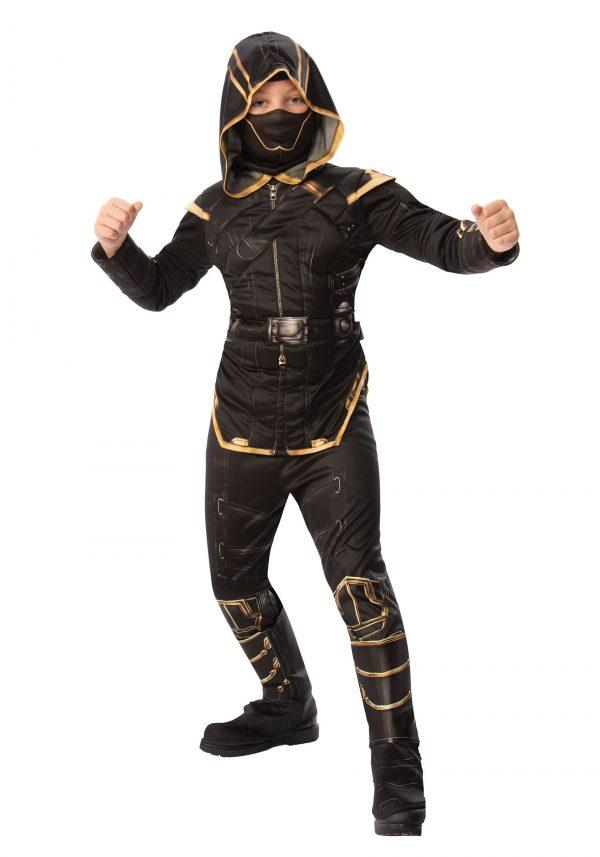 Fantasia de Marvel Vingadores Endgame Hawkeye Ronin crianças – Marvel Avengers Endgame Boys Hawkeye Ronin Costume