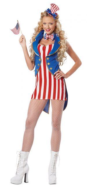 Fantasia de Miss Independência Mulher Adulta – Adult Miss Independence Woman Costume
