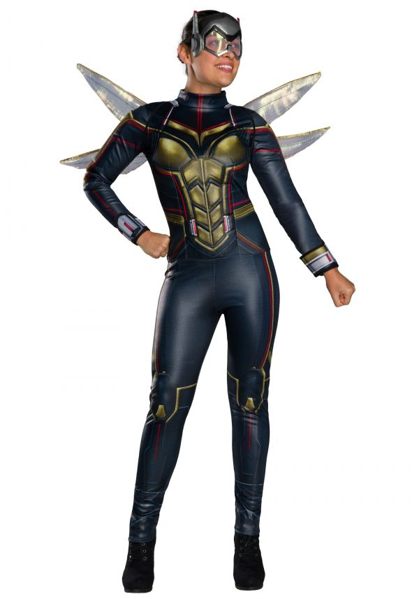 Fantasia de Mulher Vespa Marvel-Marvel Ant-Man and the Wasp Women's Wasp Costume