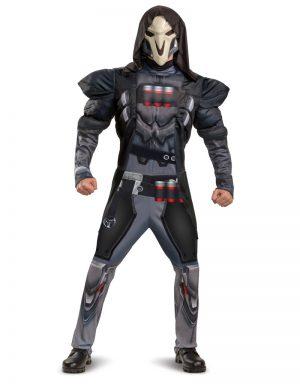 Fantasia de Reaper Masculino com Músculos – Men's Reaper Costume With Muscles (Overwatch)