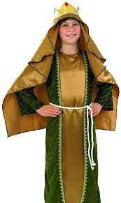Fantasia de Três Reis Natividade Natal Crianças -Three Kings Costume Nativity Christmas Children