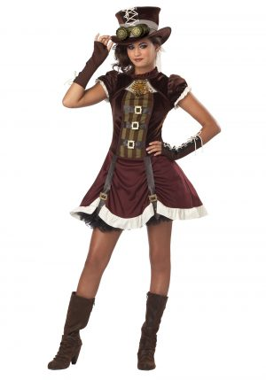 Fantasia de Tween Girls Steampunk – Tween Girls Steampunk Costume