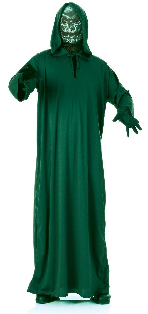 Fantasia de alienígena masculina do Ceifador adulto-Adult Grim Reaper Men Alien Costume