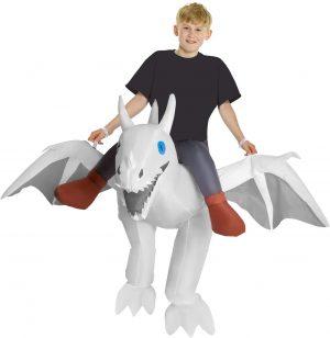 Fantasia de dragão inflável Morph para adultos – Inflatable Dragon Costume Morph for Adults