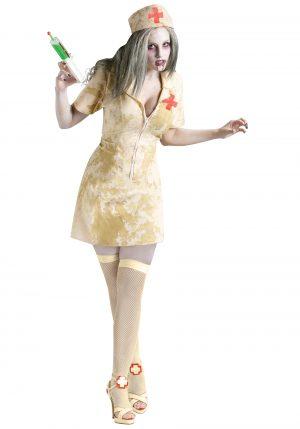 Fantasia de enfermeira zumbi sexy – Sexy Zombie Nurse Costume