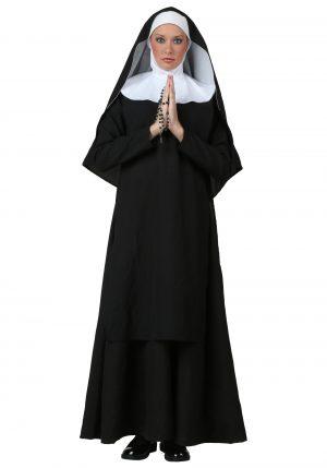 Fantasia  de freira de luxo – Deluxe Nun Costume