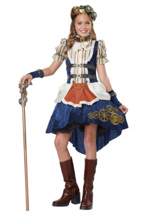 Fantasia de garotas adolescentes Steampunk – Steampunk Teen Girls Costume