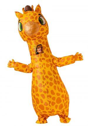 Fantasia de girafa inflável para crianças – Inflatable Giraffe Costume for Kids
