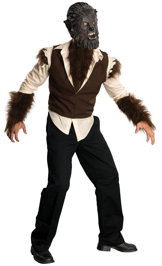 Fantasia de homem lobo adulto – Adult Wolfman Men Costume