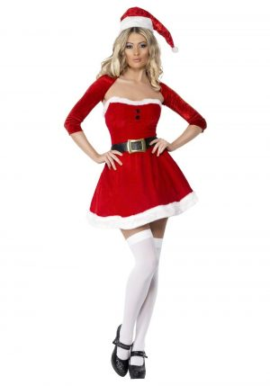 Fantasia de mamãe noel sexy – Sexy Santa Babe Costume