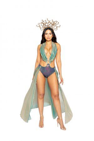 Fantasia de mulher adulta Medusa Guardiã – Adult Medusa Guardian Women Costume