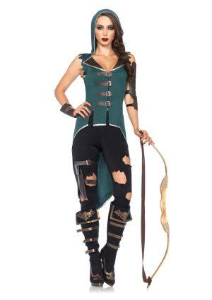 Fantasia de mulher adulto rebelde Robin Hood – Adult Rebel Robin Hood Woman Costume