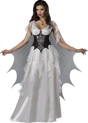 Fantasia de mulher condessa vampira adulta – Adult Vampire Countess Woman Costume