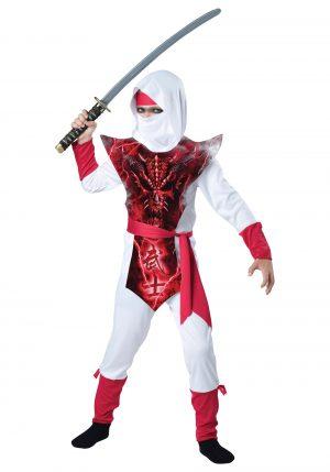 Fantasia de ninja fantasma de menino – Boy's Ghost Ninja Costume