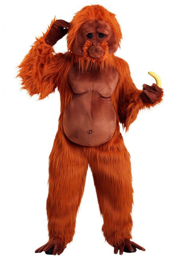 Fantasia de orangotango – Adult Orangutan Costume