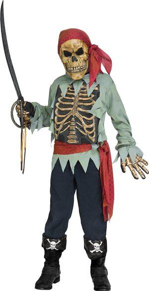 Fantasia de pirata pirata do mundo divertido – Fun world pirate pirate costume