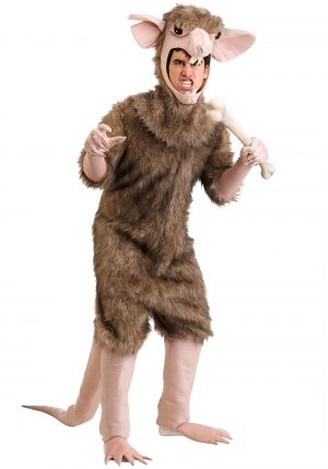 Fantasia de rato de esgoto – Men's Sewer Rat Costume