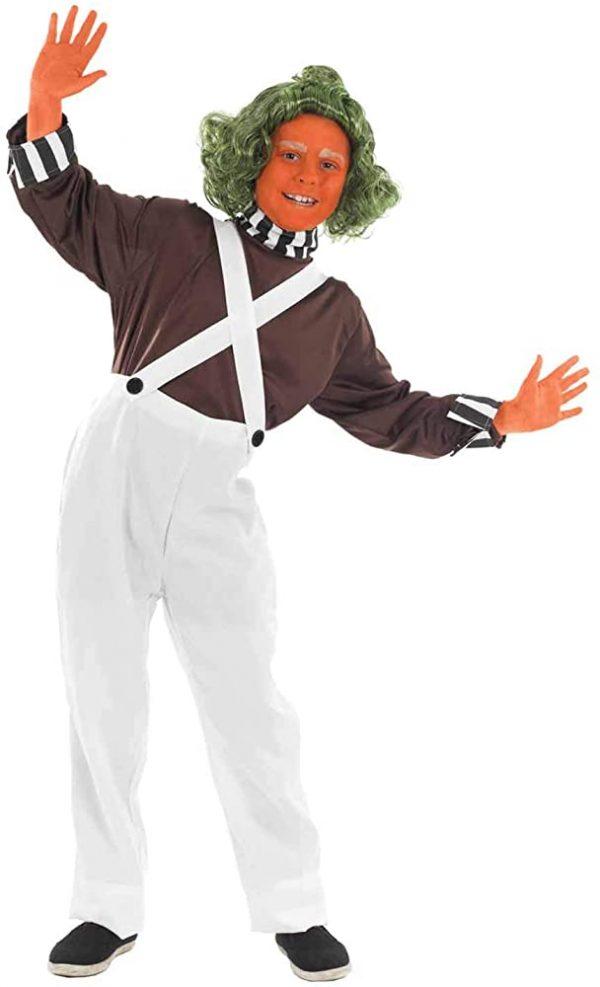 Fantasia de trabalhador de fábrica de chocolate – Chocolate factory worker costume