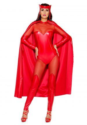 Fantasia feminina da Fiery Force – Women's Fiery Force Costume