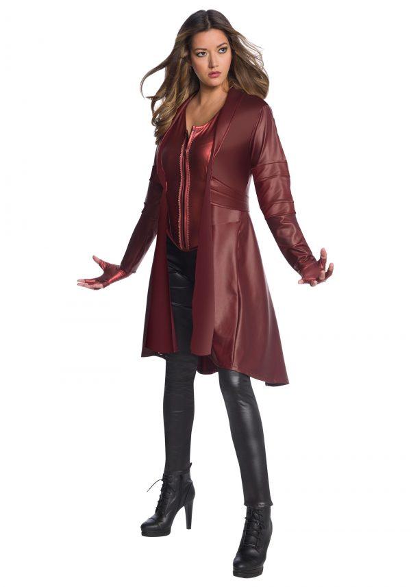 Fantasia  feminina da bruxa escarlate – Avengers Endgame Secret Wishes Scarlet Witch Women's Costume