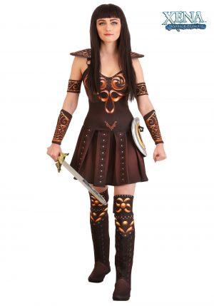 Fantasia feminina de princesa xena guerreira – Women's Xena Warrior Princess Costume