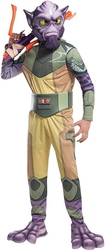 Fantasia infantil Deluxe de Star Wars Rebels Zeb – Deluxe Star Wars Rebels Zeb Kids Costume