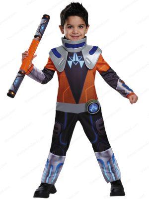 Fantasia infantil Disney Miles Tomorrowland Chrome Boys Space Deluxe