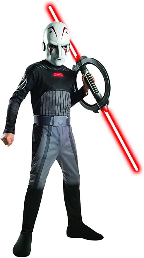 Fantasia infantil de Inquisidor de Star Wars –  Star Wars Inquisitor Children's Costume