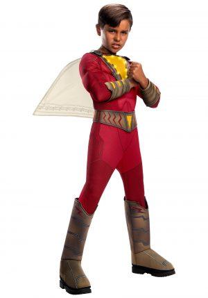 Fantasia infantil de luxo iluminada Shazam- Shazam! Deluxe Kids Light-Up Costume