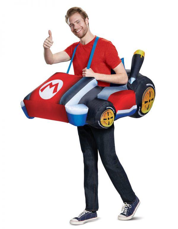Fantasia inflável adulto Mario Kart – Adult Mario Kart Inflatable Costume