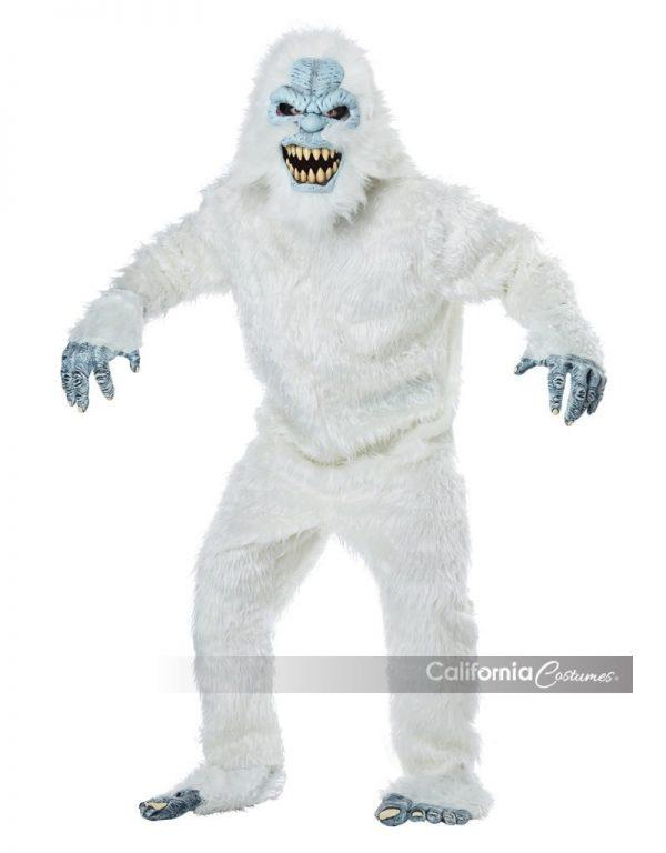 Fantasia masculina da fera da neve – Men's Snow Beast Costume