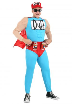 Fantasia masculino de Duffman – Men's Duffman Costume