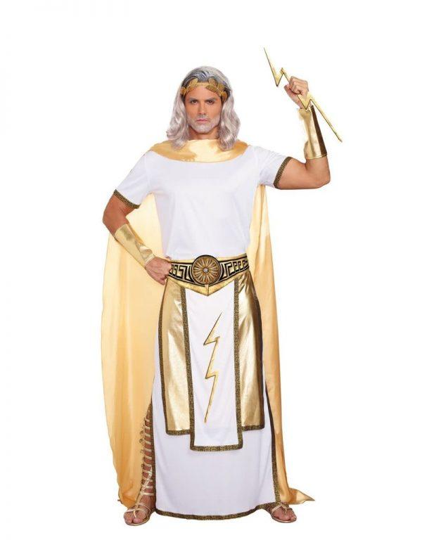 Fantasia masculino de Zeus – Men's Zeus Costume