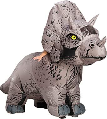 Fantasia para adultos de Rubie's Jurassic World 2 inflável triceratops