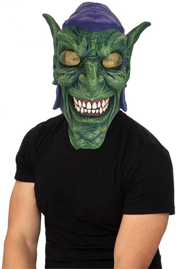 Máscara De Látex Adulto De Duende Verde – Green Goblin Adult Latex Mask