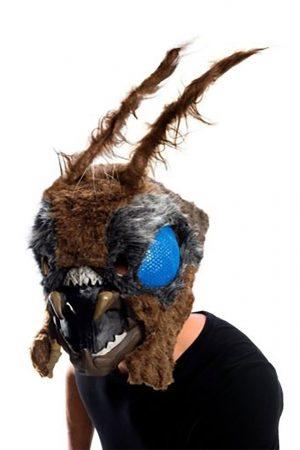 Máscara Full-Head Latex Mothra – King of the Monsters Mothra