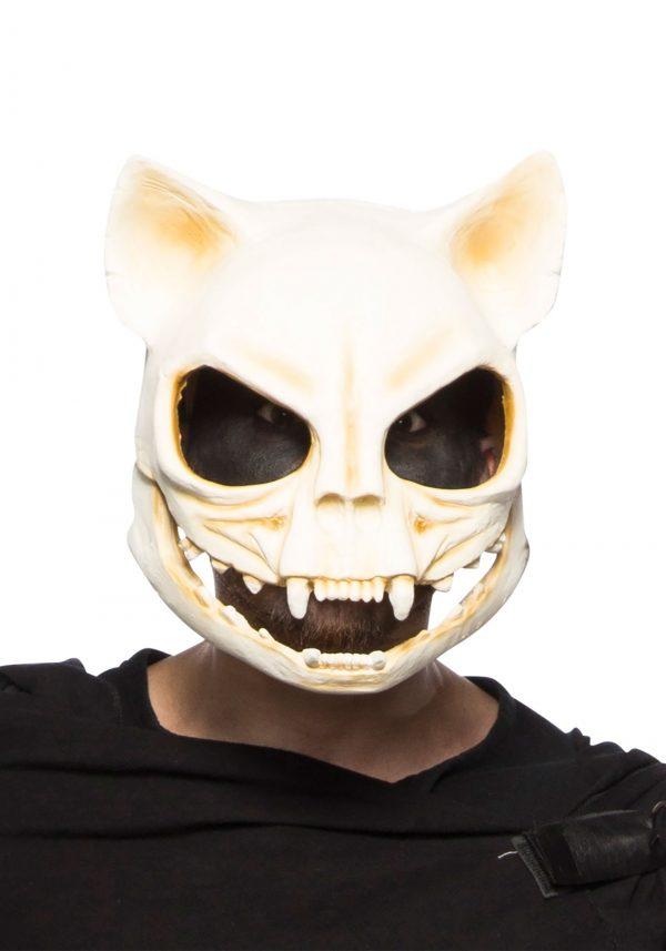 Máscara de caveira de gato – Cat Skull Adult Mask