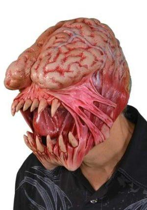 Máscara de comedor de cérebro – Adult Brain Eater Mask