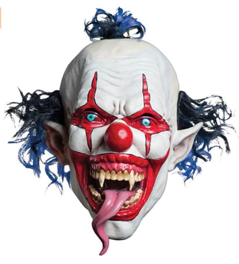 Máscara de palhaço Vermelha – Morbid Enterprises Red Mask