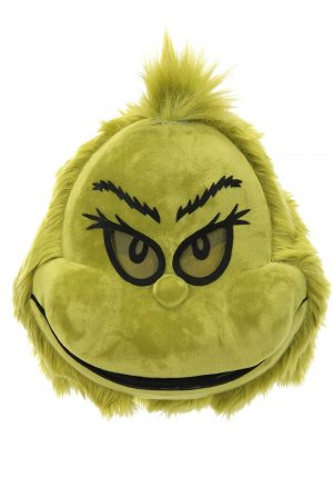 Máscara do Grinch – Grinch Furry Mouth