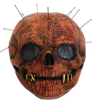 Mascara Bristol Novelty Skull Pin – Bristol Novelty Mask Skull Pin