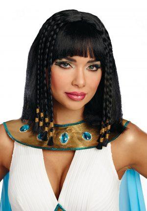 Peruca rainha egípcia feminina- Women's Egyptian Queen Wig
