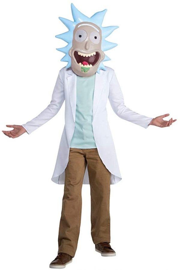 Rick e Morty Rick fantasia de cientista para crianças –  Rick and Morty Rick scientist costume for kids