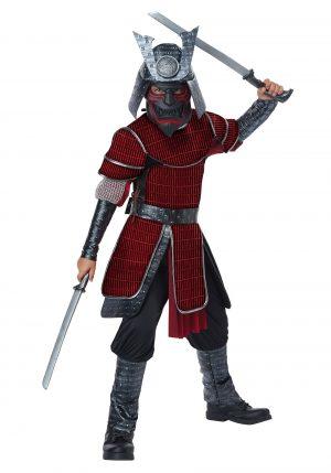 Traje de Samurai Deluxe para crianças – Kids Deluxe Samurai Costume