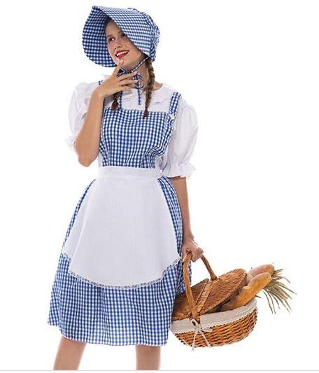Fantasia de Camponesa Feminino – Female Peasant Costume