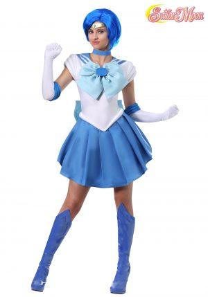 fantasia de Sailor Mercury para mulheres – Sailor Moon: Sailor Mercury Costume for Women
