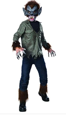 Fantasia de Lobisomem Infantil –   Children's Werewolf Costume